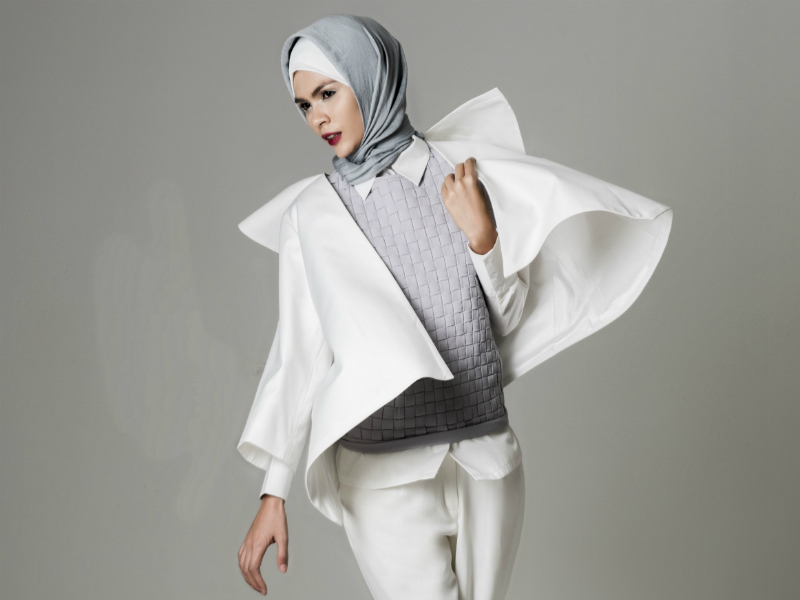 Indonesian Designer ETU Brings Modest Wear To The  Virgin Australia Melbourne Fashion Festival