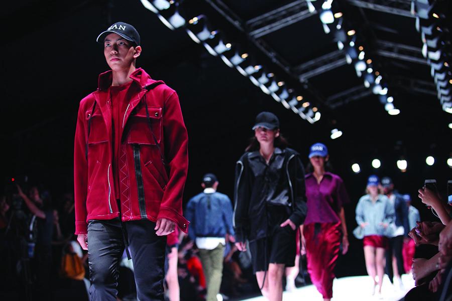 HAN hits the runway at Jakarta Fashion Week 2016