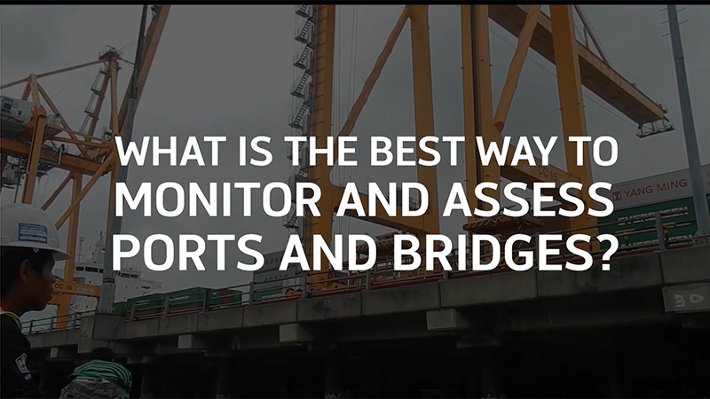 Using non-destructive testing to monitor concrete infrastructure