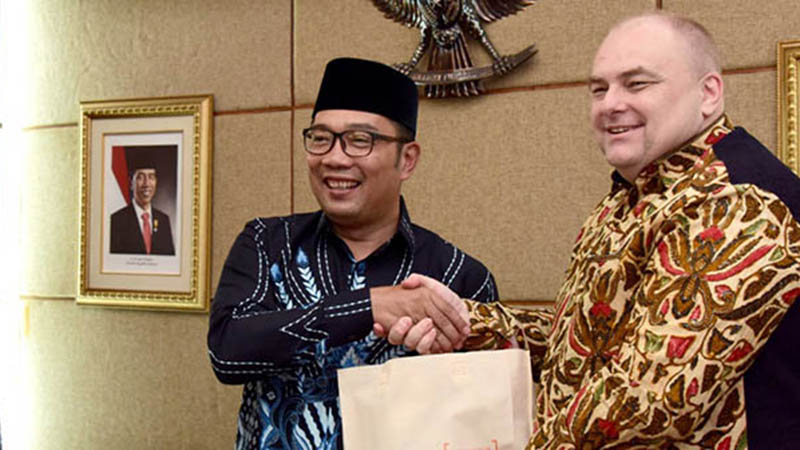 Governor Ridwan Kamil talks West Java, collaboration opportunities with Urban Water team