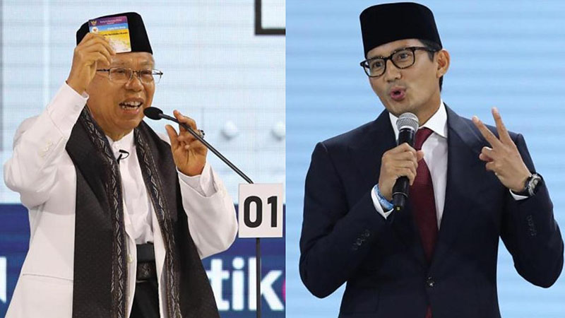 Indonesia votes 2019: Vice-presidential hopefuls play a straight bat in third debate