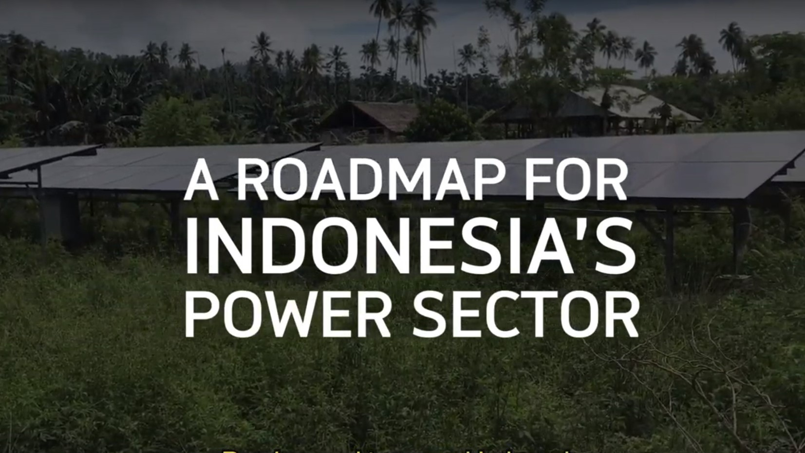 Dr Ariel Liebman from Monash University on 'A Roadmap for Indonesia's Power Sector'