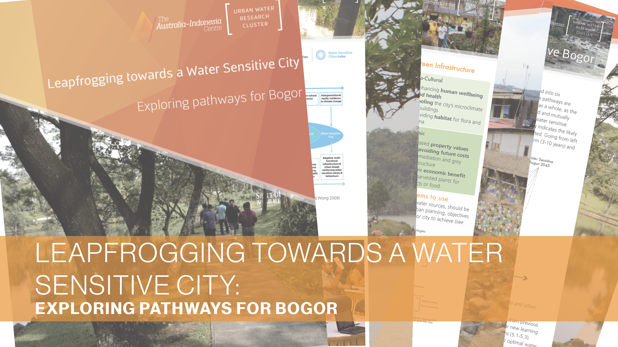 A guide for leapfrogging towards a water sensitive Bogor, Indonesia